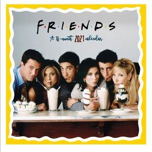 Friends tv show 2021 wall calendar